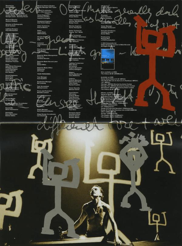 Depeche Mode Quot One Night In Paris Quot 2001