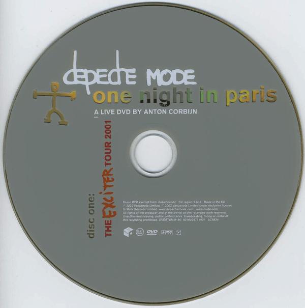 Depeche Mode One Night In Paris 2001
