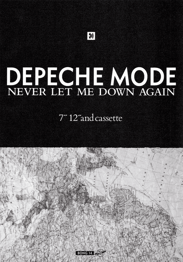 Depeche Mode Never Let Me Down Again 1987