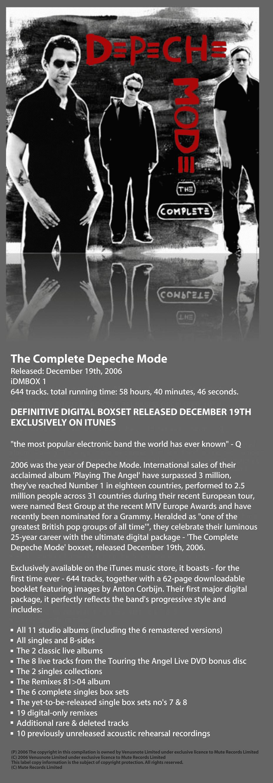 the complete depeche mode