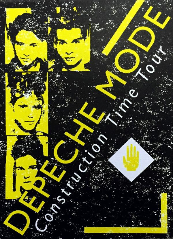Depeche Mode Construction Tour 1983 1984