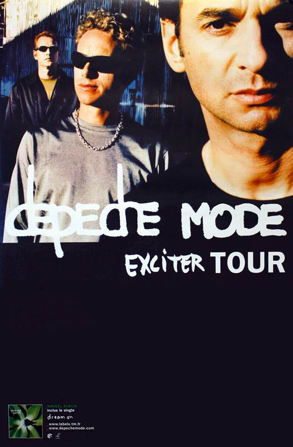 depeche mode exciter tour 2001. Black Bedroom Furniture Sets. Home Design Ideas