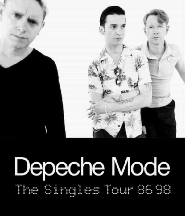 depeche mode the singles tour 1998. Black Bedroom Furniture Sets. Home Design Ideas